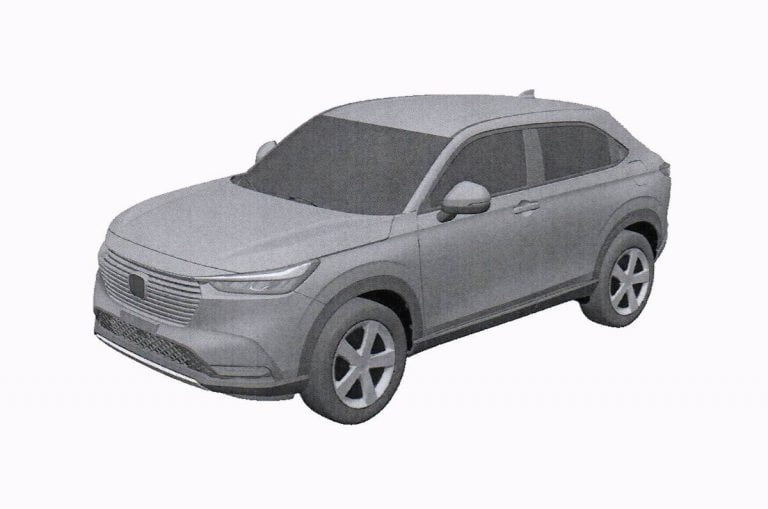 New-Gen Honda HR-V Patented Images Leaked Online –  Creta, Seltos-Rival!