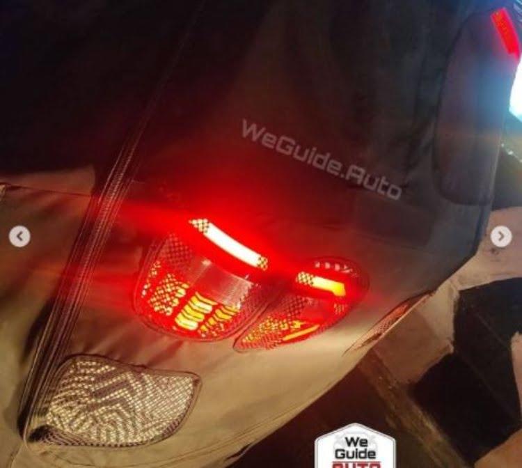 Hyundai Creta 7 seat spy shot
