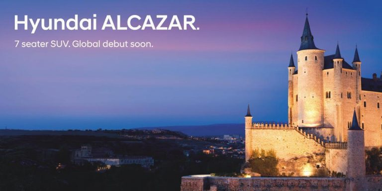 Hyundai Officially Names Its 7-Seater Creta Based SUV Alcazar – Announces Debut Soon!