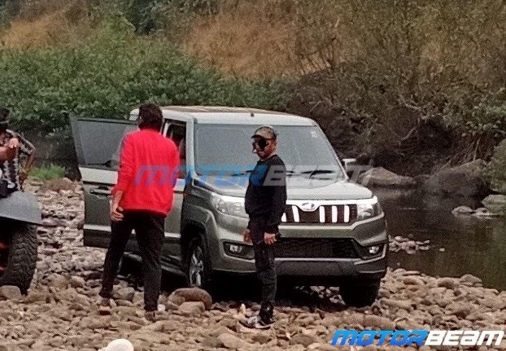 Mahindra Bolero Neo Spy Shots