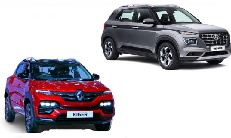 Renault Kiger vs Hyundai Venue – Features, Specs And Prices Comparison!