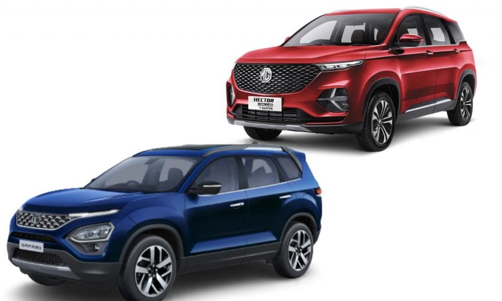 Tata Safari vs MG Hector Plus
