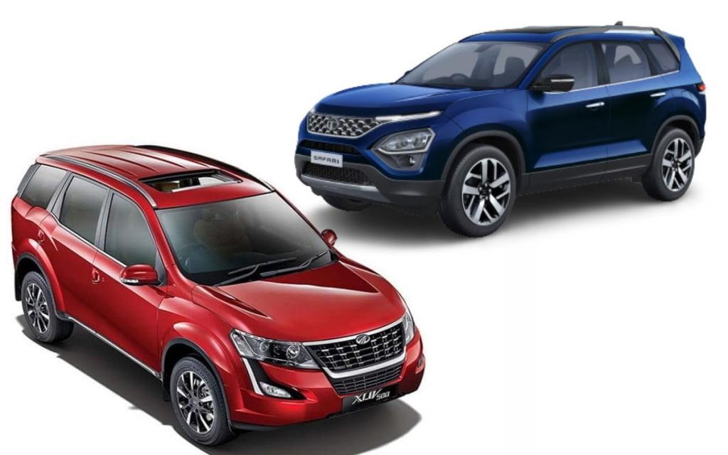 Tata Safari vs Mahindra XUV500