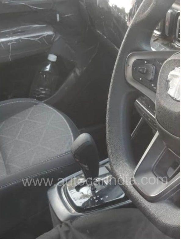 Tata Hornbill Interior Spy