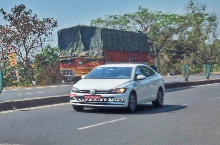 VW Virtus (Next-Gen Vento) Spied Testing In India – City, Verna, Ciaz Rival – Launch In 2021?