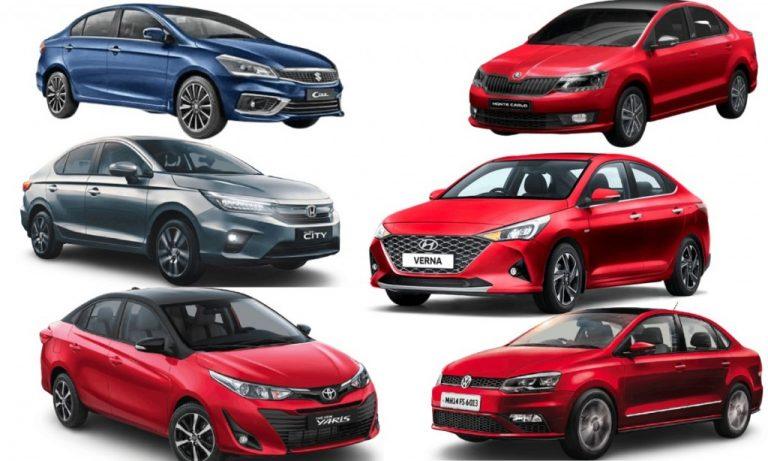 Executive Sedan Sales Comparison For February – City, Verna, Ciaz, Yaris, Rapid And Vento!
