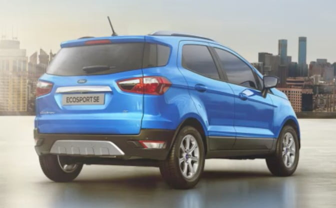 2021 Ford EcoSport SE Variant Launched – No Spare Tyre!