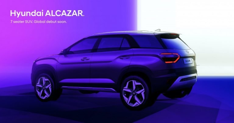 Hyundai Releases Design Sketches Of The Alcazar (7-Seat SUV) – Expected Engines, Features And Engines!
