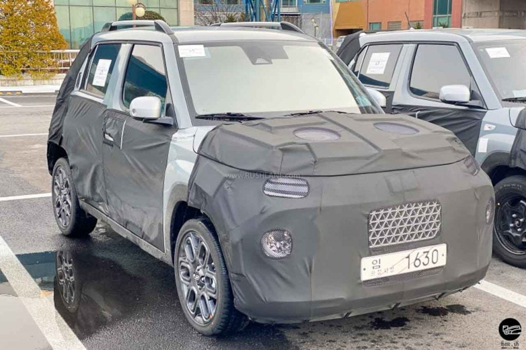 Hyundai AX Micro SUV Spied