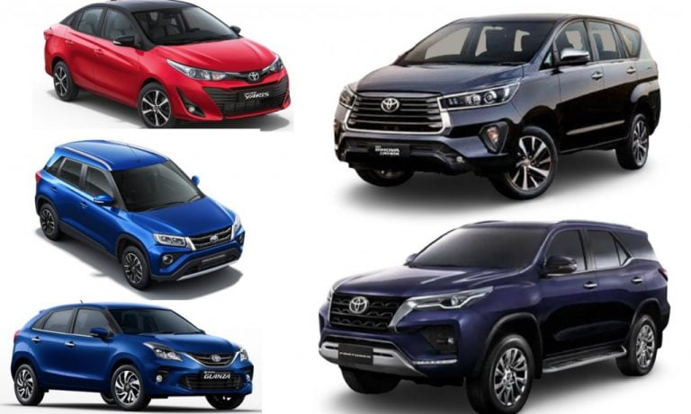 Toyota Witnesses 36% Sales Growth YoY – Innova The Top-Seller, Fortuner Sells Over 2,000 Units!