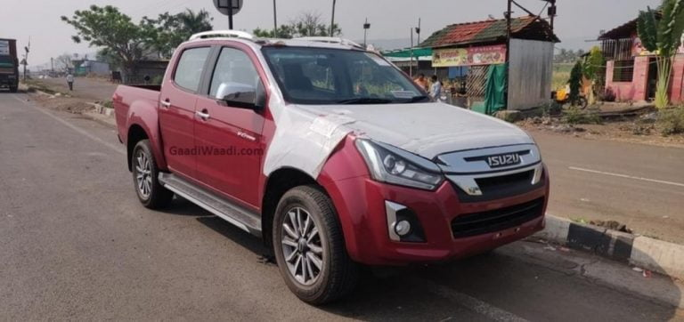 BS6 Ready 2021 Isuzu D-Max Spied Undisguised – Expected Launch Soon In 2021!