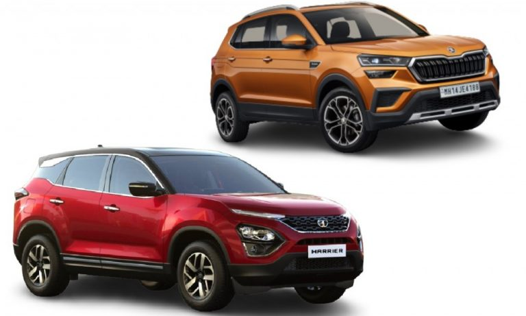 Skoda Kushaq vs Tata Harrier – Features, Engines, Safety And Expected Prices Comparison!