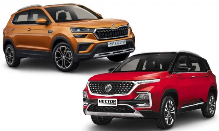 Skoda Kushaq vs MG Hector – Engines, Features, Safety And Prices Comparison!
