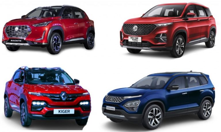 Sales Figures Of New Cars For February 2021 – Kiger, Hector, Safari, Magnite!