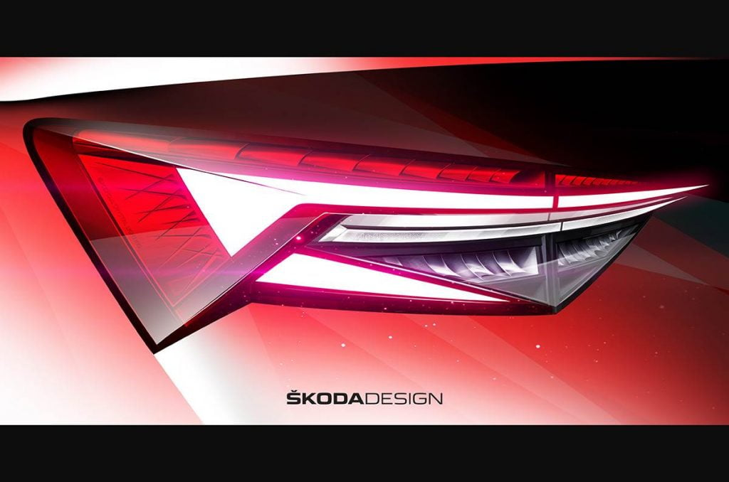 Skoda Kodiaq Design Sketch