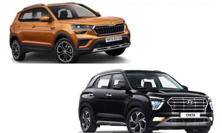 Skoda Kushaq vs Hyundai Creta – Features, Engines, Safety And Prices Comparison!