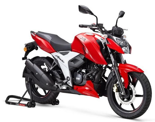 2021 TVS Apache RTR 160 4V Launched- The Most Powerful Bike In Its Class!