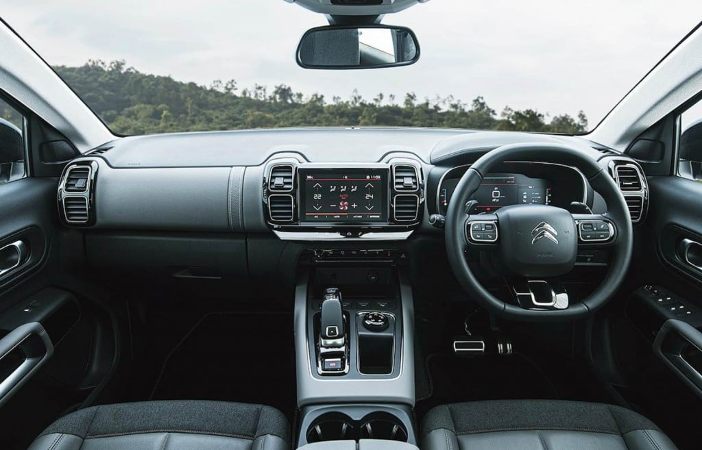 Citroen C5 Aircross Interiors