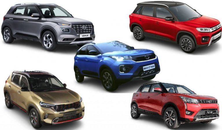 Compact SUV Segment Sales Report For March – Brezza, Sonet, Venue, Kiger And More!