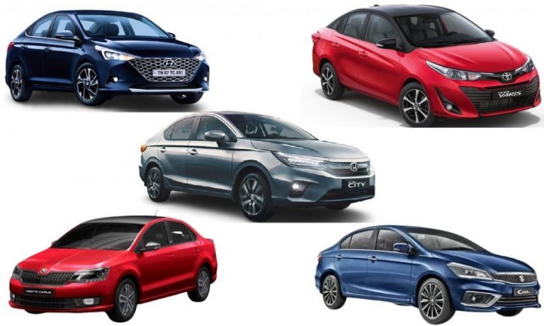 Executive Sedan Sales Report For March 2021 – City, Verna, Ciaz, Rapid, Yaris And Vento!