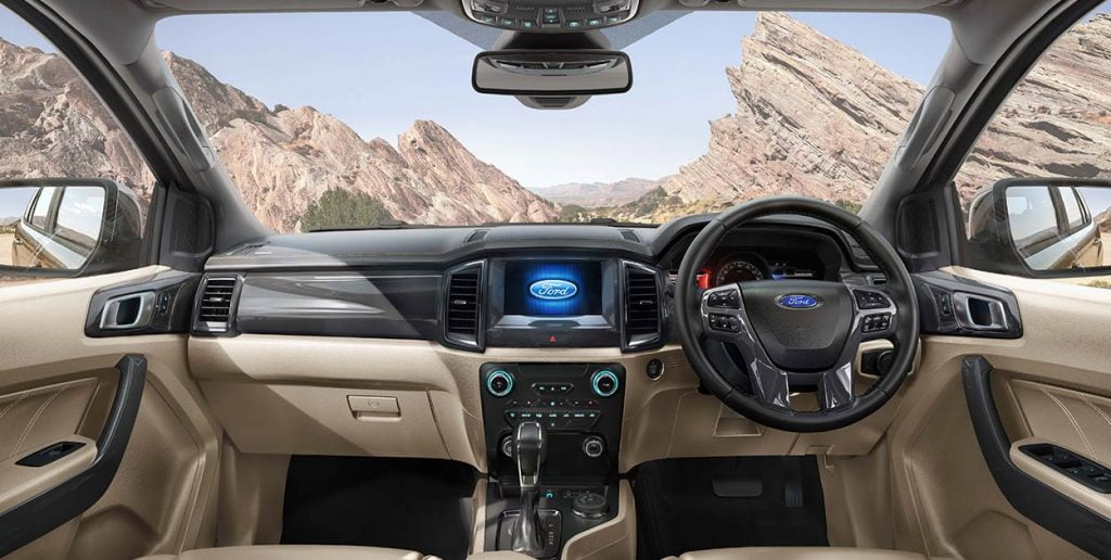 Ford Endeavour Interiors