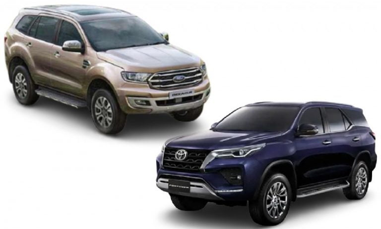Toyota Fortuner vs Ford Endeavour- The Big Comparison; Engines, Features, Prices And More!