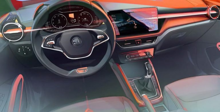 Skoda Has Released The Interior Design Sketches Of The New Fabia – India Launch On Cards?