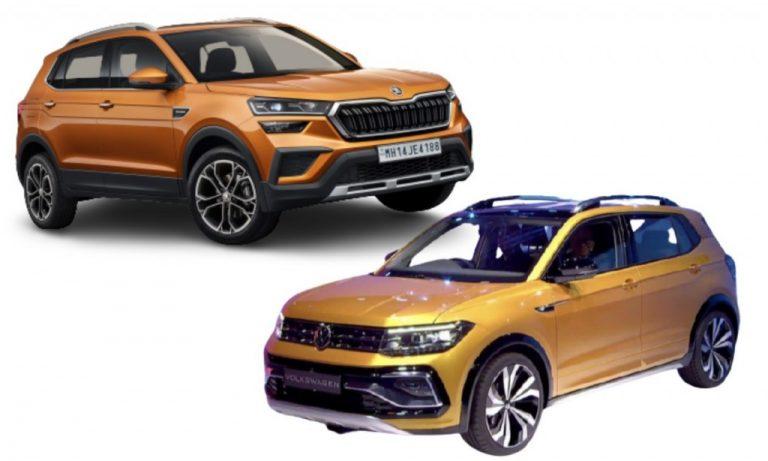VW Taigun vs Skoda Kushaq – Similarities And Differences!