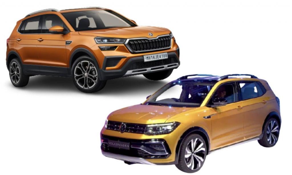 Skoda Kushaq vs VW Taigun