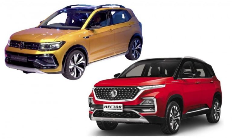 VW Taigun vs MG Hector – Engines, Features, Specifications, Expected Prices Comparison!