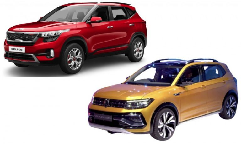 VW Taigun vs Kia Seltos – Engines, Safety, Features And Expected Prices Comparison!