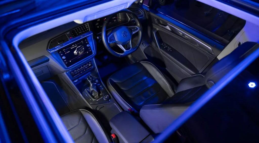 VW Tiguan Interiors