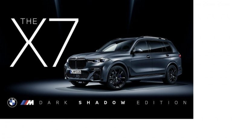 BMW X7 M50d Dark Shadow Edition Launched In India At Rs 2.02 Crore!