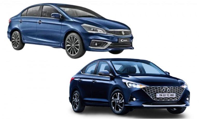 Maruti Suzuki Ciaz vs Hyundai Verna – Engines, Prices, Specs, Features, Safety Comparison!