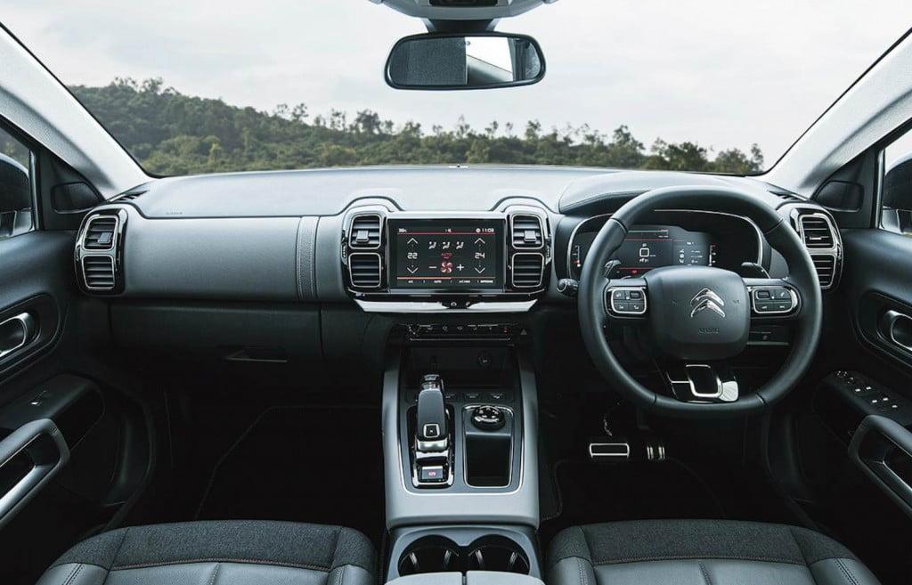 Citroen C5 Aircross interiors