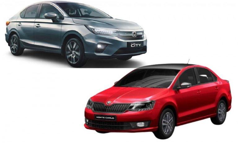 Skoda Rapid vs Honda City – Engines, Prices, Specs, Features, Safety Comparison!