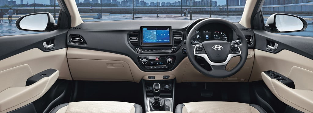 Hyundai Verna Interiors