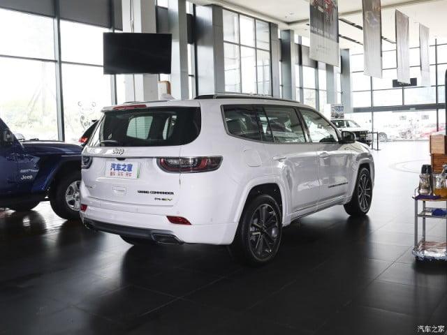 Jeep Commander China Rear