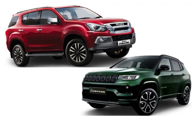 Jeep Compass vs Isuzu mu-X – Which Is The Better Lifestyle Off-Roader – Engines, Prices, Features Comparison!
