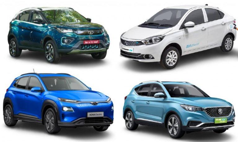 Electric Car Sales In April 2021 – Nexon EV, ZS EV, Tigor EV & Kona Electric!