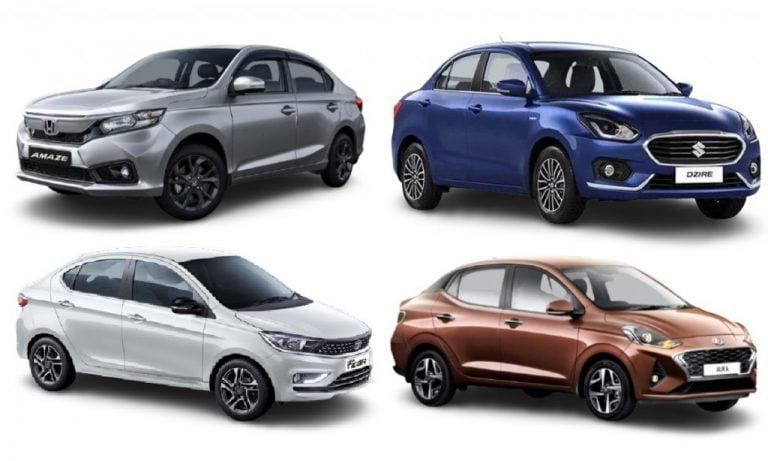 Compact Sedan Sales Report April 2021- Dzire, Amaze, Aura / Xcent And Tigor!