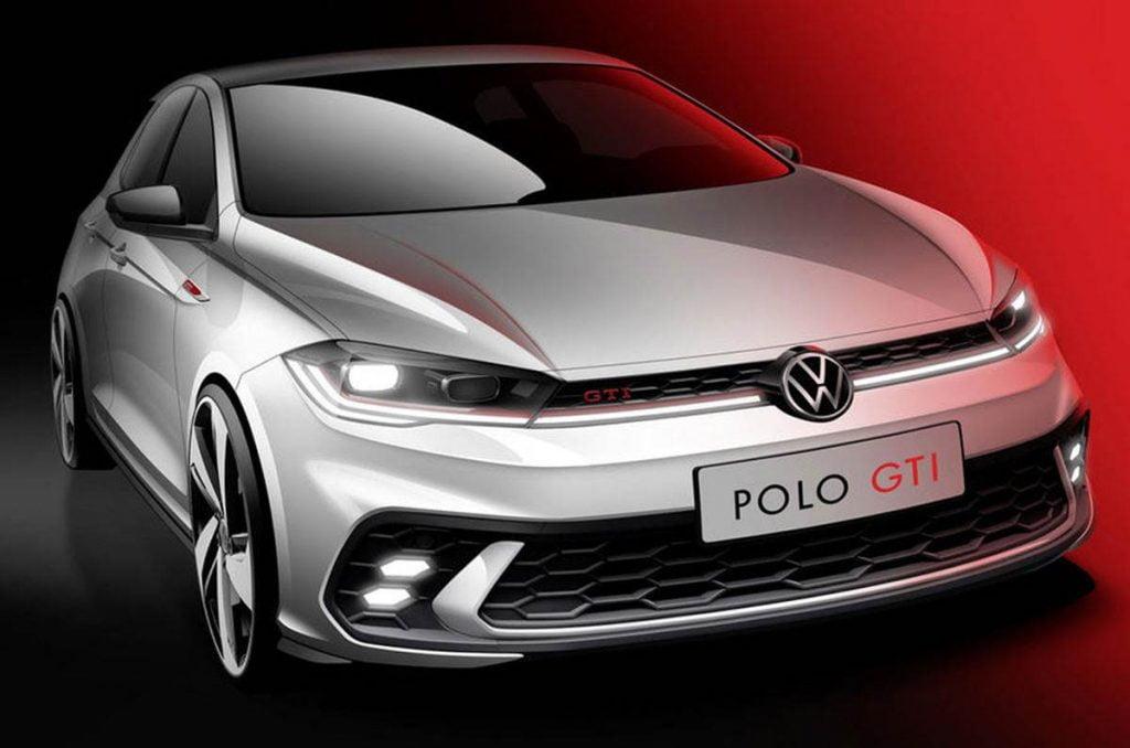 Volkswagen Polo GTI Design Sketch