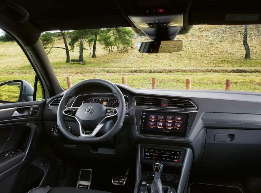 VW Tiguan Allspace Interiors