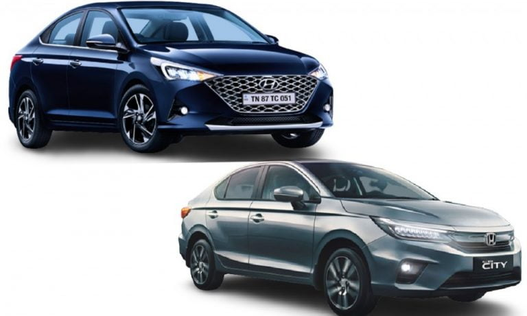 Hyundai Verna vs Honda City- Engines, Specs, Features, Prices, Safety Comparison!