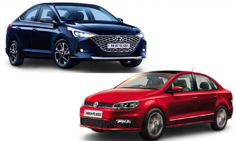 Hyundai Verna vs Volkswagen Vento – Engines, Prices, Specs, Features, Safety Comparison!