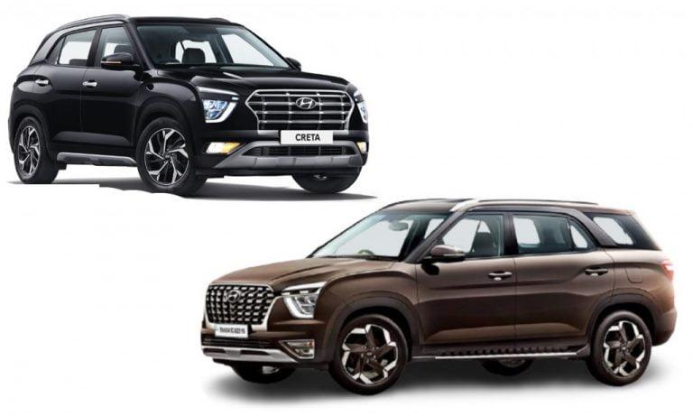 Hyundai Alcazar vs Creta – Which One Suits You Better?