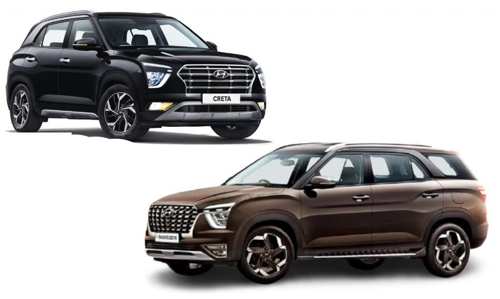 Hyundai Creta vs Hyundai Alcazar