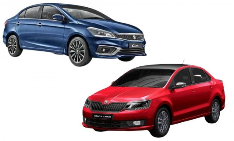 Maruti Suzuki Ciaz vs Skoda Rapid – Engines, Prices, Specs, Features, Safety Comparison!