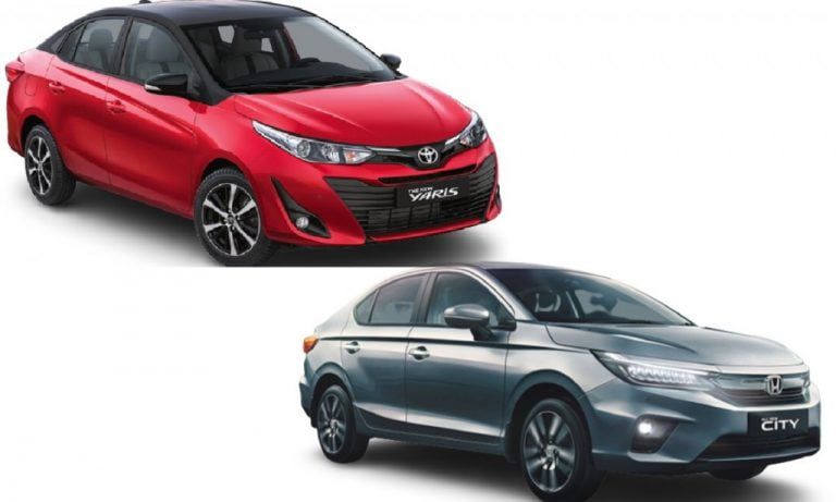 Honda City vs Toyota Yaris – Engines, Specs, Features, Prices, Safety Comparison!
