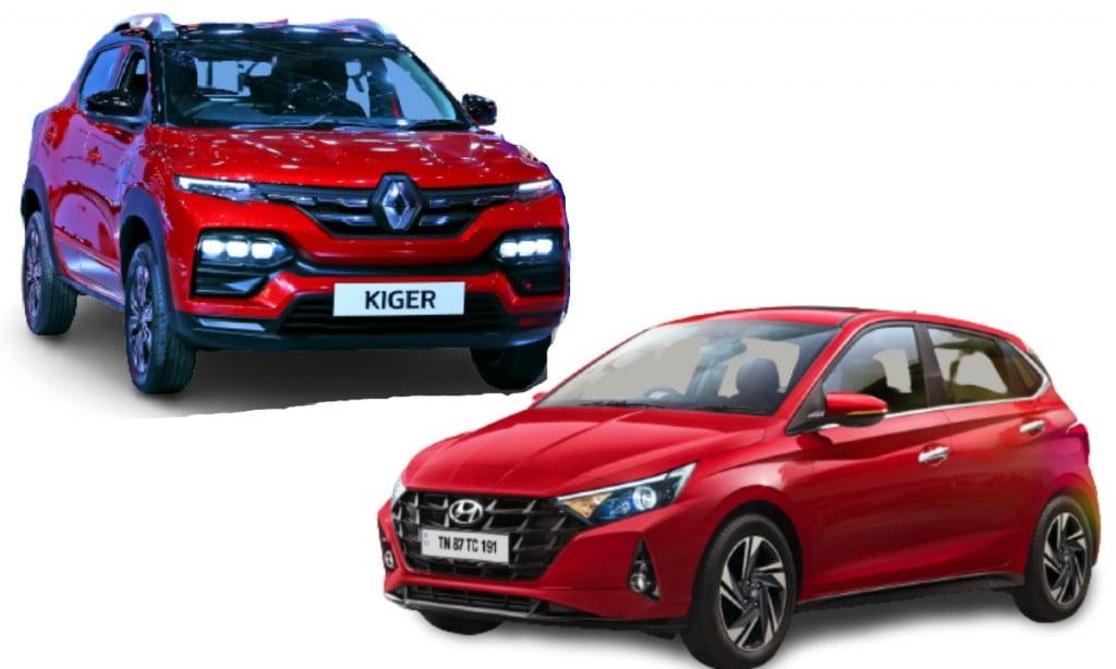 Hyundai i20 vs Renault Kiger